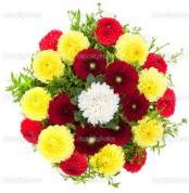 Hatay çiçek online çiçek siparişi  13 adet mevsim çiçeğinden görsel buket