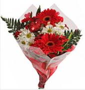 Mevsim çiçeklerinden görsel buket  Hatay kaliteli taze ve ucuz çiçekler