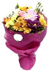 1 demet karışık görsel buket  Hatay çiçek gönderme