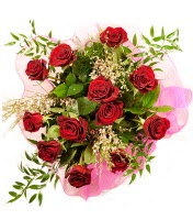 12 adet kırmızı gül buketi  Hatay çiçek yolla