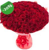 Özel mi Özel buket 101 adet kırmızı gül  Hatay çiçek gönderme