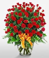 Görsel vazo içerisinde 101 adet gül  Hatay çiçek yolla , çiçek gönder , çiçekçi