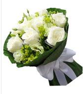 9 adet beyaz gül buketi  Hatay çiçek servisi , çiçekçi adresleri