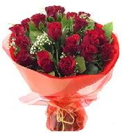 12 adet görsel bir buket tanzimi  Hatay yurtiçi ve yurtdışı çiçek siparişi