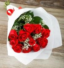 9 kırmızı gülden buket çiçeği  Hatay cicek , cicekci