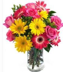 Vazoda Karışık mevsim çiçeği  Hatay çiçek online çiçek siparişi