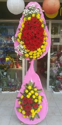 Çift katlı düğün nikah açılış çiçek modeli  Hatay kaliteli taze ve ucuz çiçekler