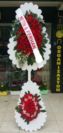 Çift katlı düğün nikah çiçeği modeli  Hatay çiçek servisi , çiçekçi adresleri