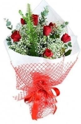 7 adet gülden kız arkadaşıma çiçek  Hatay cicekciler , cicek siparisi