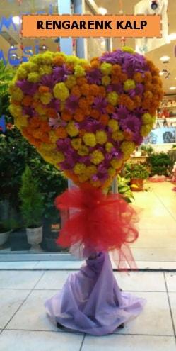 Ankara mevsim çiçeklerinden kalp perförje  Hatay cicekciler , cicek siparisi