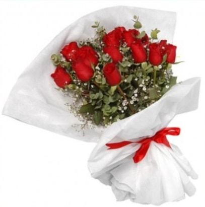 9 adet kırmızı gül buketi  Hatay çiçek online çiçek siparişi