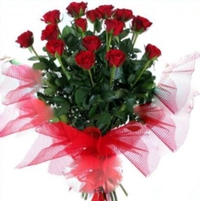 15 adet kırmızı gül buketi  Hatay çiçek yolla , çiçek gönder , çiçekçi
