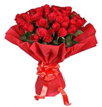 41 adet gülden görsel buket  Hatay uluslararası çiçek gönderme