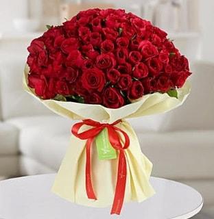 101 adet kırmızı gül buketi koca demet  Hatay güvenli kaliteli hızlı çiçek