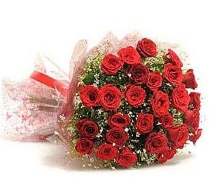 27 Adet kırmızı gül buketi  Hatay anneler günü çiçek yolla