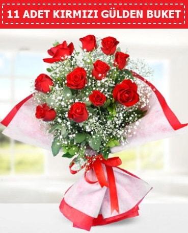 11 Adet Kırmızı Gül Buketi  Hatay güvenli kaliteli hızlı çiçek
